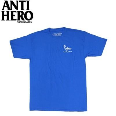 ANTIHERO BASIC PIGEON SS TEE ROYALWHITE アンチヒーロー 半袖 Tシャツ ロイヤルホワイト 19m