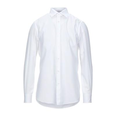 パル ジレリ PAL ZILERI シャツ ホワイト 43 コットン 100% シャツ
