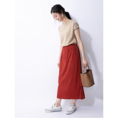 ・プリーツアイラインスカート