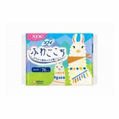 ユニ・チャーム ソフィ フワゴコチ無香料38枚×2P