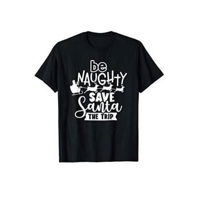 いたずらにサンタを救おう旅面白いクリスマス Tシャツ