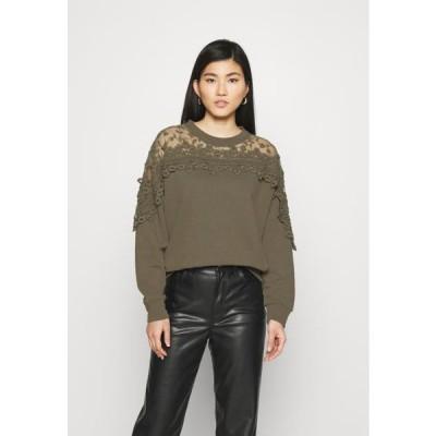 クリーム レディース ファッション KALANIE - Sweatshirt - sea turtle