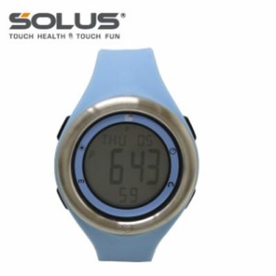 ソーラス 腕時計 SOLUS ウォッチ 01-910-002 ライトブルー メンズ レディース スポーツ ダイエット エクサ 国内正規品 【1年保証付】