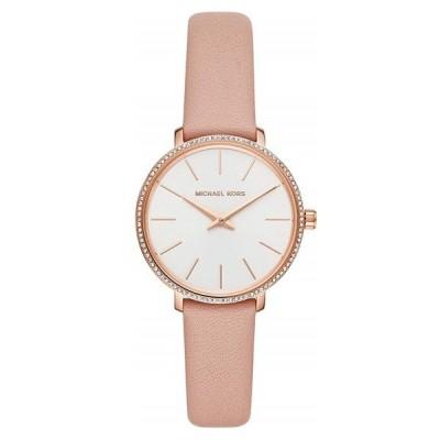 マイケルコース レディース MINI PYPER ナチュラル シンプル ピンクレザー 革 女性 贈り物 MK2803 腕時計