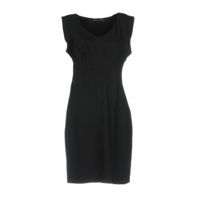 ツインセット シモーナ バルビエリ TWINSET ミニワンピース&ドレス ブラック L ポリエステル 100% ミニワンピース&ドレス