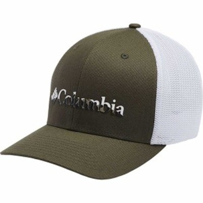 コロンビア Columbia ユニセックス キャップ 帽子 Mesh Ballcap New Olive/White/City Grey