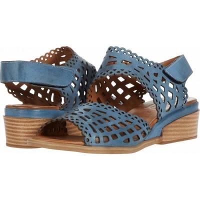 スプリングステップ Spring Step レディース サンダル・ミュール シューズ・靴 Petra Blue