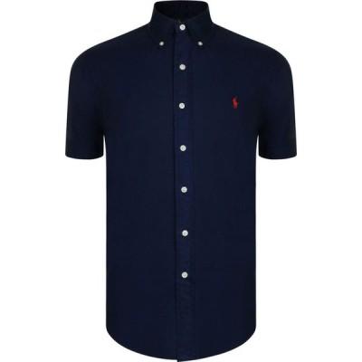 ラルフ ローレン POLO RALPH LAUREN メンズ 半袖シャツ トップス Short Sleeved Chino Shirt Navy