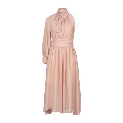VICOLO 7分丈ワンピース・ドレス ベージュ S ポリエーテル 100% 7分丈ワンピース・ドレス