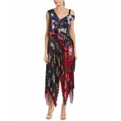 YIGAL AZROUEL イーガル・アズローエル ファッション ドレス Yigal Azrouel Pleated A-Line Dress 4