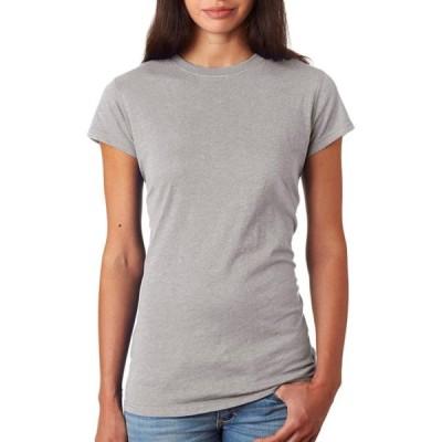 レディース 衣類 トップス J America Womens Sideseam Construction Glitter T Shirt Black Small Style JA8138 Tシャツ