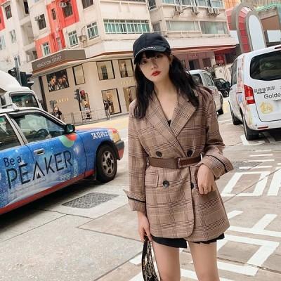 スーツコート 春 レディース ジャケット アウター おしゃれ チェスターコート 大きいサイズ エレガント ゆったり 女性 大人 シンプル通勤通学