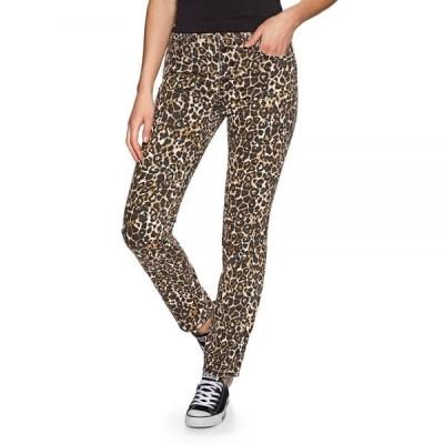 ボルコム Volcom レディース ジーンズ・デニム ボトムス・パンツ Super Stoned Skinny Jeans Animal Print