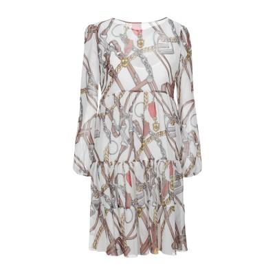 ブルーガール ブルマリン BLUGIRL BLUMARINE ミニワンピース&ドレス ホワイト 38 ポリエステル 100% ミニワンピース&ドレス