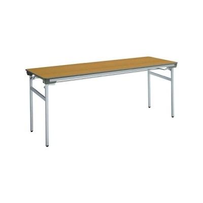 コクヨ 会議 ミーティング用テーブル KT-140シリーズ 脚折りたたみ式 棚付き 幅1500×奥行き450MM 天板カラー F1