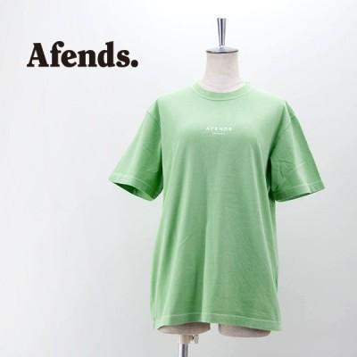 (SALE 30%OFF)Afends. アフェンズ ユニセックス Premium Organic フロントロゴTシャツ(M212006)(2021SS)(返品交換不可)