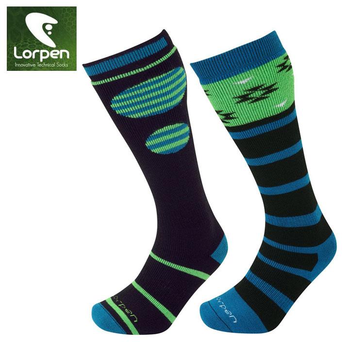 Lorpen T2 美麗諾羊毛滑雪襪S2WL(IV) / 城市綠洲(保暖、舒適、健行、羊毛襪、西班牙)