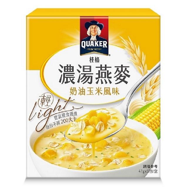 桂格濃湯燕麥奶油玉米風味47g