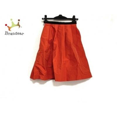 ピンキー&ダイアン Pinky&Dianne スカート サイズ34 S レディース 美品 レッド×黒   スペシャル特価 20200526