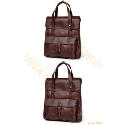 ハンドバッグ リュックサック 多機能 通学 リュック A4対応 かばん レザー メンズ レディース 通勤 旅行 バッグ ブリーフケース ビジネス 紳士用