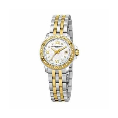 腕時計 レイモンドウイル レディース Raymond Weil 5399 SPS 00995 Women's Tango Mother of Pearl Quartz Watch