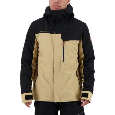 オバマイヤー ジャケット&ブルゾン アウター メンズ Obermeyer Men's Grommet Jacket Black