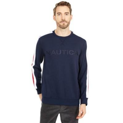 ノーティカ メンズ 服  Logo Fleece Sweatshirt