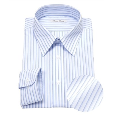 抗菌防臭。形態安定長袖ワイシャツ(レギュラーカラー)(標準シルエット) (ワイシャツ)Shirts,
