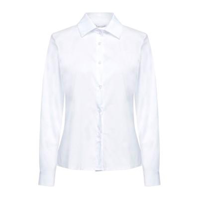 ANGELA MELE MILANO シャツ ホワイト S コットン / ナイロン シャツ