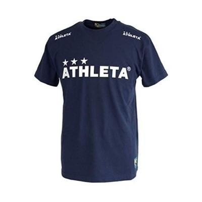 ATHLETA アスレタ 定番ロゴTシャツ XOサイズ 03015M 90 ネイビー