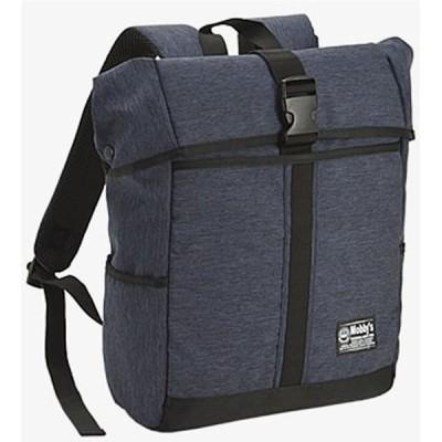 リュック ディバッグ バックパック ボックス型 A4 PC対応 メンズ レディース バックパック  紺