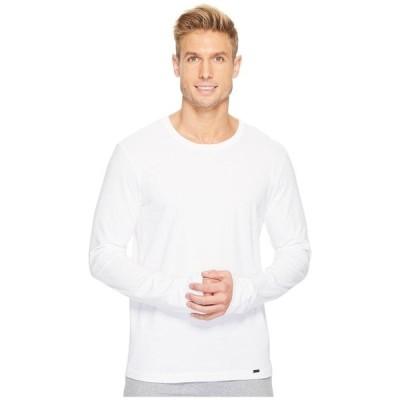 ハンロ メンズ シャツ トップス Living Long Sleeve Crew Neck Shirt