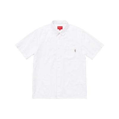 Supreme 2018年春夏 S/S Oxford Shirt シャツ ホワイト