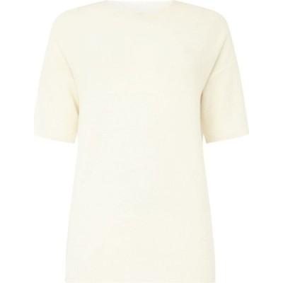 マレーラ Marella レディース ニット・セーター トップス Short sleeve jumper White