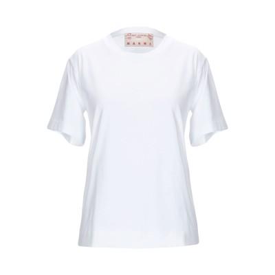 マルニ MARNI T シャツ ホワイト 36 コットン 100% T シャツ