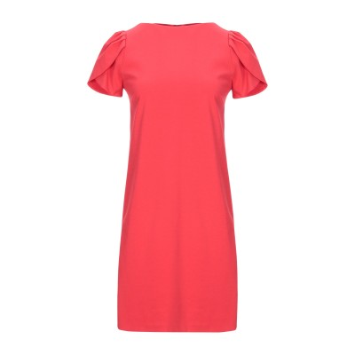 カオス KAOS ミニワンピース&ドレス レッド 42 コットン 52% / ナイロン 40% / ポリウレタン 8% ミニワンピース&ドレス