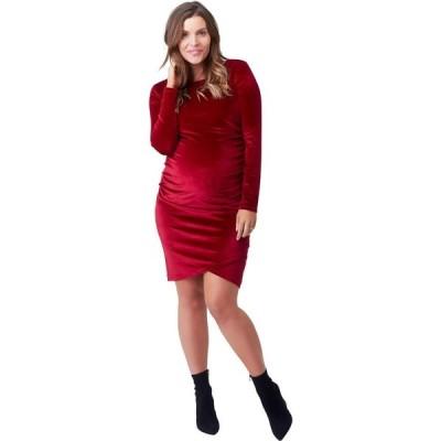 ノム NOM Maternity レディース ワンピース ワンピース・ドレス Clio Dress Ruby Velvet