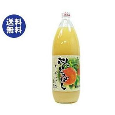 送料無料 長野興農 信州 まるごと桃いちばん(加糖) 1L瓶×6本入