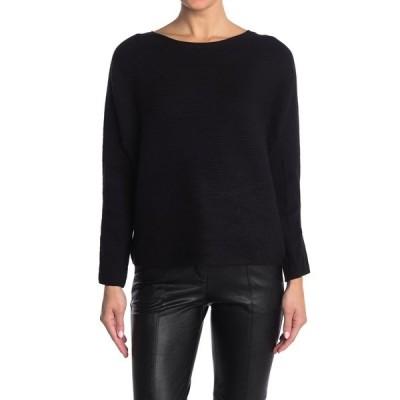 ティー・タハリ レディース ニット&セーター アウター Solid Dolman Sleeve Pullover BLACK