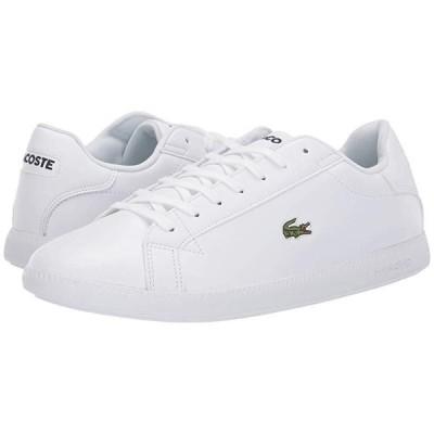 ラコステ Graduate BL 1 SMA メンズ スニーカー 靴 シューズ White/White