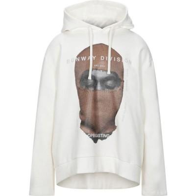 インノミネイト IH NOM UH NIT メンズ スウェット・トレーナー パーカー トップス Hooded Sweatshirt White
