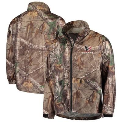 """メンズ ジャケット """"Houston Texans"""" Sportsman Waterproof Packable Full-Zip Jacket - Realtree Camo"""