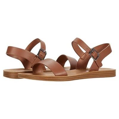 スティーブマッデン League Flat Sandal レディース サンダル Cognac Leather
