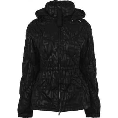 アルマーニ EMPORIO ARMANI レディース ダウン・中綿ジャケット アウター Emporio Armani Puffer Jacket Black