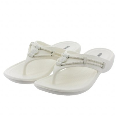 ミネトンカ SILVERTHORNE PPRISM White EVA570100 989618 レディース サンダル : ホワイト MINNE TONKA