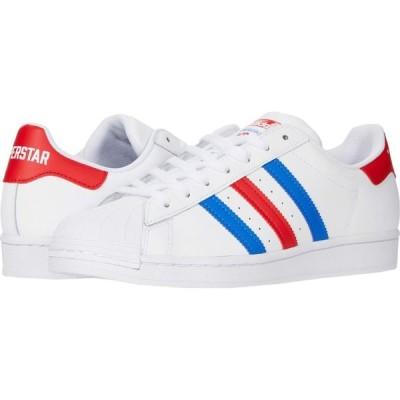 アディダス adidas Originals メンズ スニーカー シューズ・靴 Superstar White/Blue/Team Red