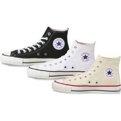 (B倉庫)【限定モデル 日本製】CONVERSE CANVAS ALL STAR J HI コンバース オールスター J ハイカット レディーススニーカー 靴 メンズスニーカー シューズ