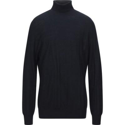 オジオ HoSIO メンズ ニット・セーター タートルネック トップス turtleneck Dark blue