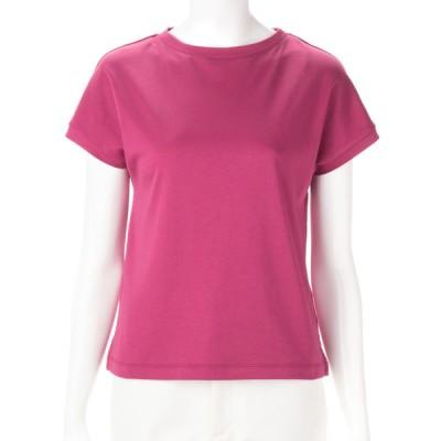 レディース 【在庫限り】フレンチ袖Tシャツ ピンク LL