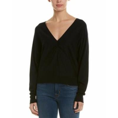 Joie ジョイー ファッション トップス Joie Giluna Silk & Cashmere-Blend Pullover Xxs